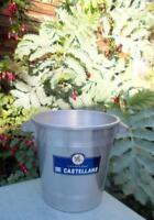 De Castellane Art Deco Aluminium Champagne Ice Bucket Cooler
