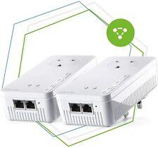 devolo Mesh WiFi 2 Starter Kit – 2x adapters for mesh Wi-Fi 4K/8K UHD 2400 Mbps