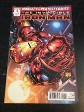 Invincible Iron Man MGC#1 Awesome Condition 7.0(2010) Larroca Art!!