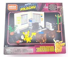 "Mega Construx Pokemon Movie Detective Pikachu Office ""NEW"""