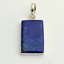 Lapislázuli colgante de joyería piedras preciosas tomada en plata ley 925
