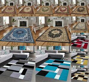 New Non-Slip Large Stylish Rugs Hallway Runner Rug Bedroom Living Room Carpets