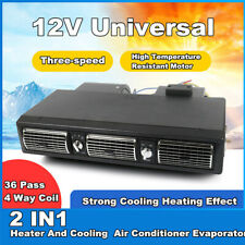 Under Dash AC Evaporator Underdash A/C Air Conditioner 2 IN 1 Cool + Heat 12V