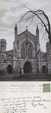 1912 HEREFORD CATHEDRAL HEREFORDSHIRE POSTCARD