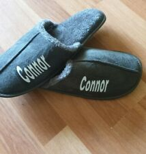 Personalised Mens Slippers Christmas Gift
