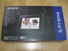 Sony DPF-V1000 White Digital Photo Frame (UK Plug) (Boxed) (Mint)