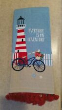 "Lighthouse Kitchen Towel: ""Everyday Is An Adventure"""