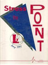 Charles A. Lindbergh High School Yearbook 1991 Renton, WA (Aery) Washington