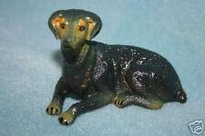New-Ray Vintage Rubber Dog Figure Doberman