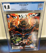 Justice League #50 CGC 9.8 $6.99 Newsstand 1st mention 3 Jokers 1st Jessica Cruz