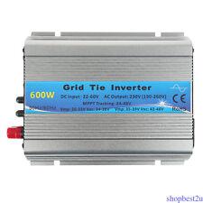 600W MPPT Micro Solar Inverter Grid Tie Wechselrichter DC22V ~ 60V bis AC 230V