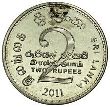 Sri Lanka 2 Rupees coin 2011 KM#147a (b1)