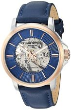 Kenneth Cole New York Men's Automatic Stainless Steel & Leather Watch KC50690003