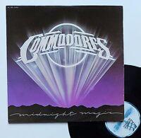 """Vinyle 33T Commodores  """"Midnight magic"""""""