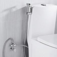 NUEVO Juego Latón shataf ducha bidet grifos WC Cromo musulmán para higiene