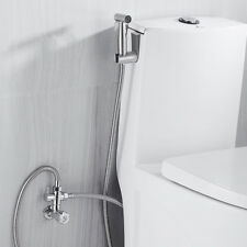 Juego Latón shataf ducha bidet grifos WC Cromo musulmán para higiene personal