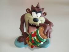 Warner Bros Brothers Looney Tunes Tasmanian Devil TAZ burger ornament figure NEW
