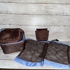 Medela Cooler Bottle Bag Drawstring Mesh & Pocket Bag