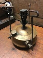 Antique Brass Primus Camp Stove No 1  AKT.BOL.B.A. HJORTH & Co Stockholm