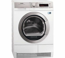 AEG T88595IS ProTex Plus A++ Rated 8KG Heat Pump Condenser Tumble Dryer