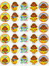 Hey Duggee x 30 Cupcake Toppers Edible Wafer Paper Fairy Cake Toppers