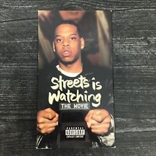 1998 Jay-Z Streets Is Watching VHS Cassette Tape Roc A Fella Records