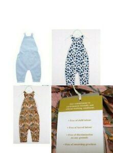 WHOLESALE BABY-KIDS JOB LOT HUNTER & BOO ORGANIC 0-5 YEARS OVERALLS DUNGAREES
