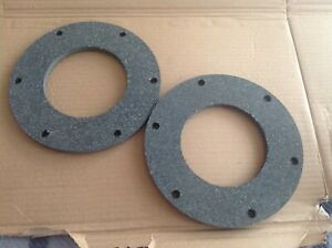 Howard Rotavator Rotovator 400 Pair clutch plates made from asbestos free