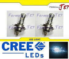 CREE LED 30W 9003 HB2 H4 WHITE 6000K TWO BULB HEAD LIGHT JDM SHOW LAMP REPLACE