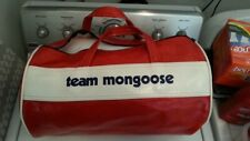 Rare Vintage 1970's Team Mongoose Bag- Original owner- Very Detailed Pictures