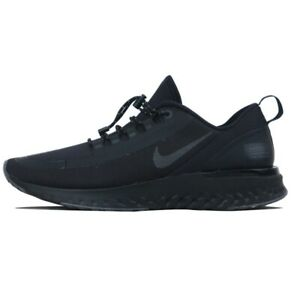NIKE ODYSSEY REACT SHIELD Running Trainers Gym Casual - UK Size 9 (EUR 44) Black
