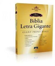 Biblia Letra Gigante 14 Puntos tamaño Manual Con indice Piel Fabricada