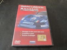 Costruisci e pilota la tua MASERATI MC12 Fabbri editore DVD