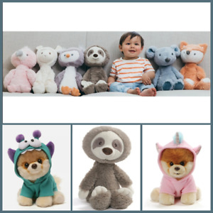 BRAND NEW GUND BABY TOOTHPICK PLUSH SLOTH BOO MONSTEROO CUTEST DOG IN THE WORLD