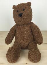"2002 Baby Gap Brown Teddy Bear Plush Baby Toy 12"""