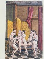 Jean Gervaise de Latouche Erotik Akt Barock Mönch Vagina Sex Orgie France 1748