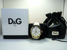 BOXED EXCELLENT CONDITION Ladies White Dolce & Gabbana D&G DWCF0096 Time Watch