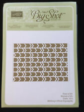 Stampin' Up ARROWS Textured Impressions Embossing Folder
