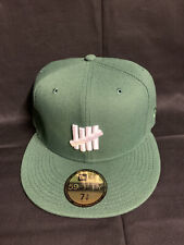 New Era Undefeated 59fifty Hat Cap 7 3/8 Green