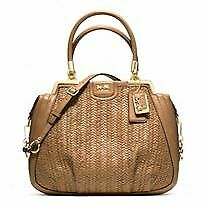 coach MADISON PINNACLE WOVEN LILLY 23489