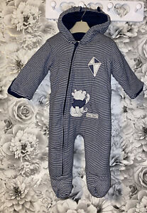 Boys Age 6-9 Months - Winnie The Pooh Snowsuit From George