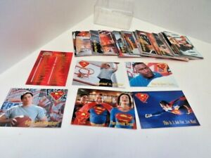 1995 Lois & Clark The New Adventures Of Superman Sky Box Trading Cards Complete