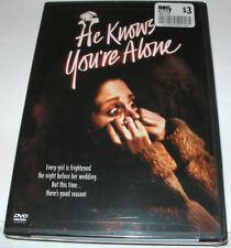 He Knows You're Alone (DVD, 2004) Horror ~ Don Scardino ~ OOP Brand New