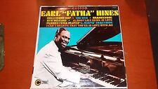 "Earl ""fatha"" Hines-self Titled-lp-coronet-50 Jazz-piano"