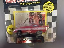 Mark Oswald 1989 Racing Champions Funny Car NIP Series 1 motorcraft
