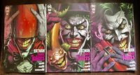 Batman Three Jokers All 3 Premium Covers Sold Out 1st Prints NM