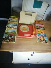 Iconic Turntable Tourne disque Fisher Price 820 Vintage 1983 + 45 tours disney