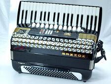 ORIGINALE HOHNER ATLANTIC IV S MIDI C FISARMONICA 120 bassi trascinamento Harmonika + VALIGIA