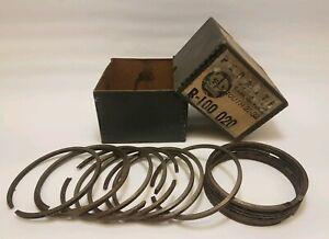 1931 & 1932 Plymouth Piston Ring Set .020 NOS RARE
