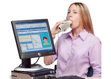 Factory New Handheld Digital Spirometer,FVC,VC, MVV, Spirometer with PC Software